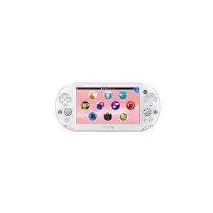 【送料無料】【中古】PlayStation (R) Vita Wi-Fiモデル ライトピンク/ホワイト(PCH-2000)本体 プレイステーション ヴィータ|kaitoriheroes