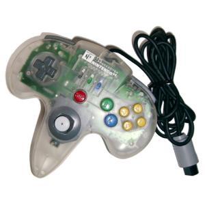 【送料無料】【中古】N64 ホリコマンダー64クリア N64 コントローラー|kaitoriheroes