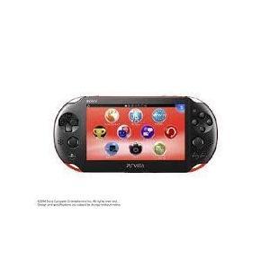 【送料無料】【中古】PlayStation Vita Wi-Fiモデル レッド/ブラック (PCH-2000) 本体 プレイステーション ヴィータ|kaitoriheroes