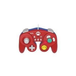 【送料無料】【中古】Wii U 【Wii U/Wii対応】ホリ クラシックコントローラー for Wii U マリオ 任天堂|kaitoriheroes