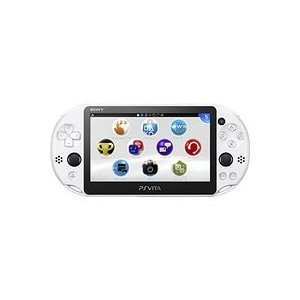 【送料無料】【中古】PlayStation Vita Wi-Fiモデル グレイシャー・ホワイト(PCH-2000ZA22) プレイステーション|kaitoriheroes