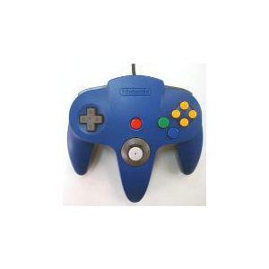 【送料無料】N64 任天堂64 コントローラーBros.ブルー N64 ブロス|kaitoriheroes