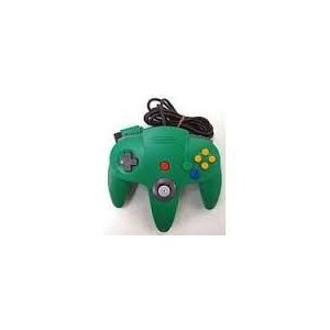 【送料無料】N64 任天堂64 コントローラーBros.グリーン N64 ブロス|kaitoriheroes