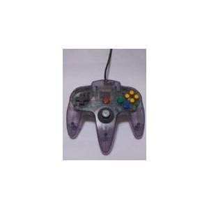 【送料無料】N64 任天堂64 コントローラーBros.クリアーパープル N64 ブロス|kaitoriheroes