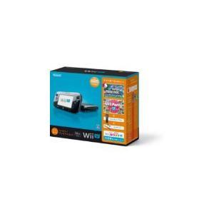 【送料無料】【中古】Wii U すぐに遊べるファミリープレミアムセット(クロ) 黒 任天堂 本体(マリオU、パーティーU内蔵)(箱説付き) kaitoriheroes