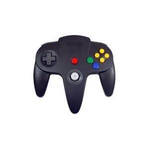 【送料無料】N64 任天堂64 コントローラーBros.ブラック N64 ブロス|kaitoriheroes