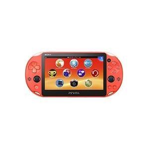 【送料無料】【中古】PlayStation Vita Wi-Fiモデル ネオン・オレンジ(PCH-2000ZA24) 本体 プレイステーション ヴィータ|kaitoriheroes