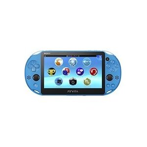 【送料無料】【中古】PlayStation Vita Wi-Fiモデル アクア・ブルー(PCH-2000ZA23) 本体 プレイステーション ヴィータ(箱説付き) kaitoriheroes