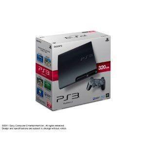 【送料無料】【中古】PS3 PlayStation 3 (320GB) チャコール・ブラック (CECH-3000B) 本体 プレイステーション3|kaitoriheroes