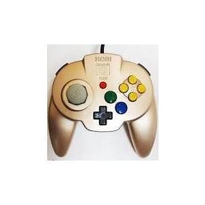 【送料無料】N64 任天堂64 ホリパッドミニ64 ゴールド コントローラー kaitoriheroes