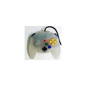 【送料無料】N64 任天堂64 ホリパッドミニ64 スノーホワイト コントローラー 本体|kaitoriheroes