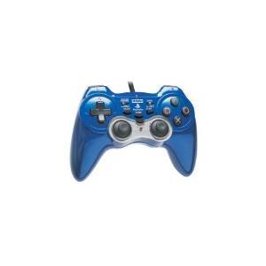 【送料無料】【中古】PS2 PlayStation2 アナログ振動パッド2 TURBO ブルー プレイステーション2 プレステ2|kaitoriheroes