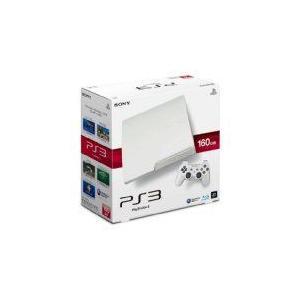 【送料無料】PS3 PlayStation 3 プレイステーション3 (160GB) クラシック・ホワイト (CECH-3000A LW) 本体|kaitoriheroes