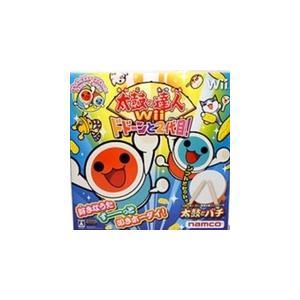 【送料無料】【中古】Wii 太鼓の達人Wii ドドーンと2代目! (専用太鼓コントローラ「太鼓とバチ」同梱)|kaitoriheroes