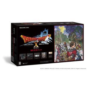 【送料無料】【中古】Wii ドラゴンクエストX Wii本体パック (RVL-S-KABR) (箱説付き)|kaitoriheroes