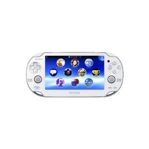 【送料無料】【中古】PlayStation Vita Wi‐Fiモデル クリスタル・ホワイト (PCH-1000 ZA02) 本体 プレイステーション ヴィータ kaitoriheroes