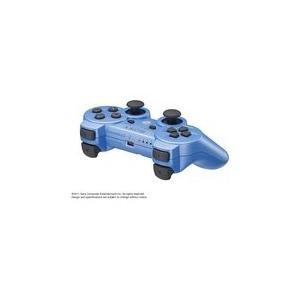 【送料無料】PS3 ワイヤレスコントローラ (DUALSHOCK3) キャンディー・ブルー (CECH-ZC2J YB) デュアルショック3 ソニー純正品|kaitoriheroes