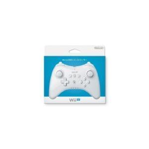 【送料無料】【中古】Wii U PRO コントローラー (shiro) (WUP-A-RSWA) シロ 白 任天堂|kaitoriheroes