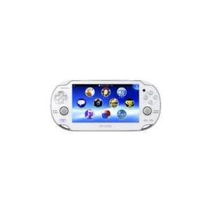 【送料無料】【中古】PlayStation Vita ヴィータ 3G/Wi‐Fiモデル クリスタル・ホワイト (限定版) (PCH-1100 AB02)|kaitoriheroes