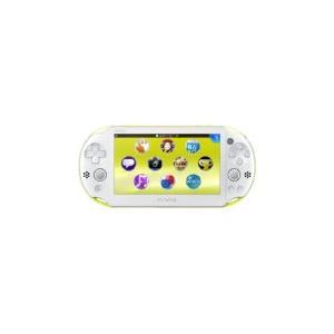 【送料無料】PlayStation Vita Wi-Fiモデル ライムグリーン/ホワイト (PCH-2000ZA13) 本体|kaitoriheroes