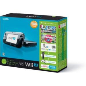 【送料無料】【中古】Wii U すぐに遊べるファミリープレミアムセット+Wii Fit U(クロ)(バランスWiiボード非同梱) (箱あり説なし) kaitoriheroes