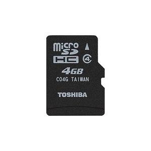 【送料無料】TOSHIBA microSDHCカード 4GB Class4 SD-MK004G New3DS New3DSLL 東芝 メモリーカード kaitoriheroes