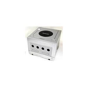 【欠品あり】【送料無料】GC ゲームキューブ NINTENDO GAMECUBE シルバー (本体のみ、ケーブル、コントローラーなし)|kaitoriheroes