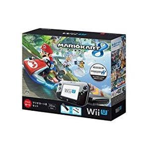 【送料無料】【中古】Wii U マリオカート8 セット クロ 本体 kaitoriheroes