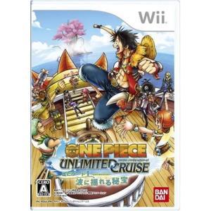 【送料無料】【中古】Wii ワンピース アンリミテッドクルーズ エピソード1 波に揺れる秘宝 ソフト|kaitoriheroes
