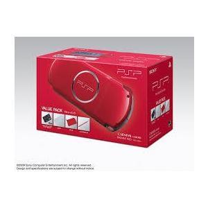 【送料無料】PSP「プレイステーション・ポータブル」バリュー・パック ラディアント・レッド 本体 ソニー PSP3000|kaitoriheroes