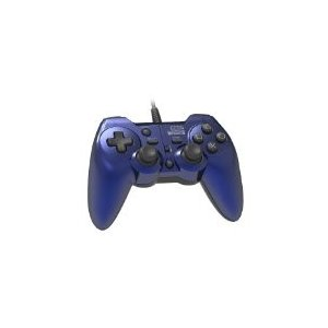 【送料無料】【中古】PS3 プレイステーション3 ホリパッド3 ターボプラス ブルー|kaitoriheroes