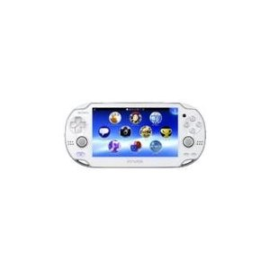 【送料無料】【中古】PlayStation Vita ヴィータ 3G/Wi‐Fiモデル クリスタル・ホワイト (限定版) (PCH-1100 AB02) kaitoriheroes