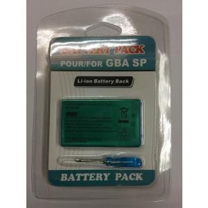 【送料無料】【新品】GBA ゲームボーイアドバンスSP専用 交換用バッテリーパック(850mAh) ドライバー|kaitoriheroes
