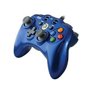 【送料無料】【中古】Xbox 360 ホリパッドEXターボ ブルー コントローラー|kaitoriheroes