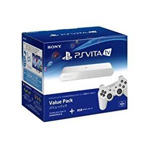 【送料無料】【中古】PlayStation Vita TV Value Pack (VTE-1000AA01) 本体 プレイステーション ヴィータ(箱説付き)|kaitoriheroes