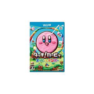 【送料無料】【中古】Wii U タッチ! カービィ スーパーレインボー|kaitoriheroes