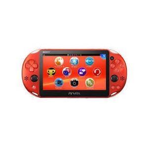 【送料無料】【中古】PlayStation Vita Wi-Fiモデル PlayStation Vita Wi-Fiモデル メタリック・レッド|kaitoriheroes
