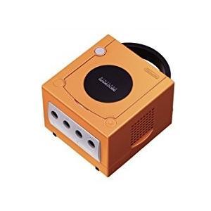 【送料無料】【中古】GC ゲームキューブ NINTENDO GAMECUBE 本体 オレンジ (本体のみ、ケーブル、コントローラーなし)|kaitoriheroes