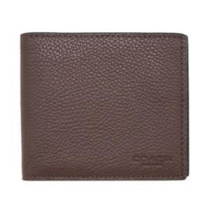 コーチ 財布 22815-C1L COACH メンズ 二つ折り 札入れ 取り外しカードケース 3-IN-1 ウォレット オックスブラッド/ブラック アウトレット|kaitsukedoh