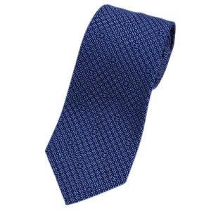 シャネル ネクタイ A73169 CHANEL メンズ ジャガード ミニCC+ピンドット デザイン ダイヤ ネイビー/ブルー/ピンク シルク100%|kaitsukedoh