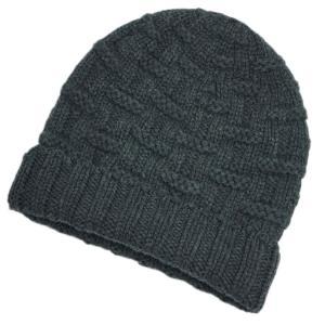 エルメス 帽子 H152080N03 HERMES ソルド メンズ ニットキャップ カシミア100%...