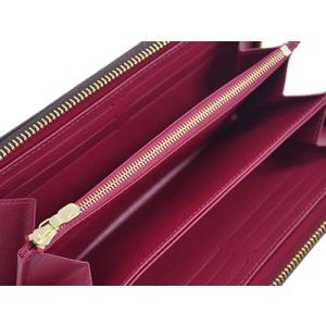 ルイヴィトン 財布 M41895 LOUIS VUITTON ヴィトン LV 長財布 モノグラム ラウンドファスナー長財布 12枚カード ジッピー・ウォレット フューシャ|kaitsukedoh|06