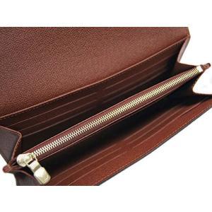 ルイヴィトン 財布 M60531 LOUIS VUITTON ヴィトン LV モノグラム ファスナー長札 ポルトフォイユ・サラ|kaitsukedoh|05