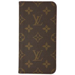 ルイヴィトン アクセサリー M67481 LOUIS VUITTON ヴィトン モノグラム LV iPhoneケース カバー iPhone XS Max・フォリオ ローズポップ|kaitsukedoh