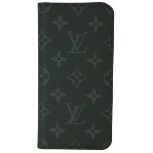 ルイヴィトン アクセサリー M67484 LOUIS VUITTON ヴィトン モノグラム・エクリプス LV iPhoneケース カバー IPHONE XS MAX・フォリオ|kaitsukedoh