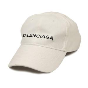 【中古】バレンシアガ 帽子 487067 BALENCIAGA ロゴ刺繍 ベースボールキャップ サイ...