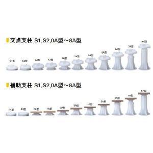 交点支柱・補助支柱【4A型】木質系OAフロアLMシリーズ用/フクビOAフロアー/フリーアクセスフロア|kaiwakuukan