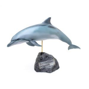 バンドウイルカ フィギュア Bottlenose Dolphin(フィッシュカービング)※受注生産3ヵ月待ち(代引き不可) kaiyokobo