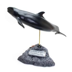 オキゴンドウ フィギュア False Killer Whale(フィッシュカービング)※受注生産3ヵ月待ち(代引き不可) kaiyokobo