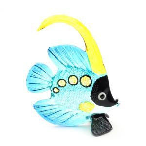 熱帯魚2 置物 ガラス細工|kaiyokobo
